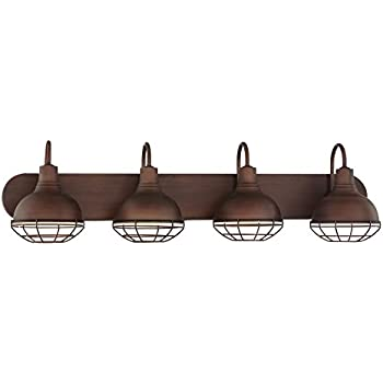 Revel liberty 36 4 light industrial vanitybathroom light revel liberty 36 4 light industrial vanitybathroom light brushed bronze finish aloadofball Choice Image