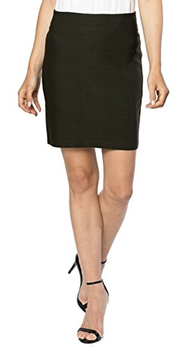 Womens Stretchable Mini Pencil Skirt, Above The Knee 19