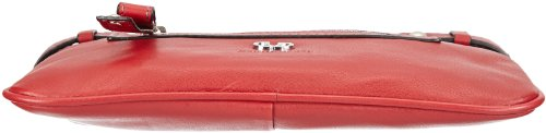 GERRY WEBER Lesina Shoulder S 4080002372 Damen Schultertasche 24x14x3 cm (B x H x T) Rot (Red 300)