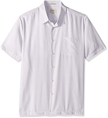 - Quiksilver Waterman Men's Cane Island Button Down Shirt, White S