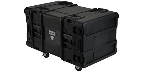 SKB 8U Industrial Shock Rack 28 Deep