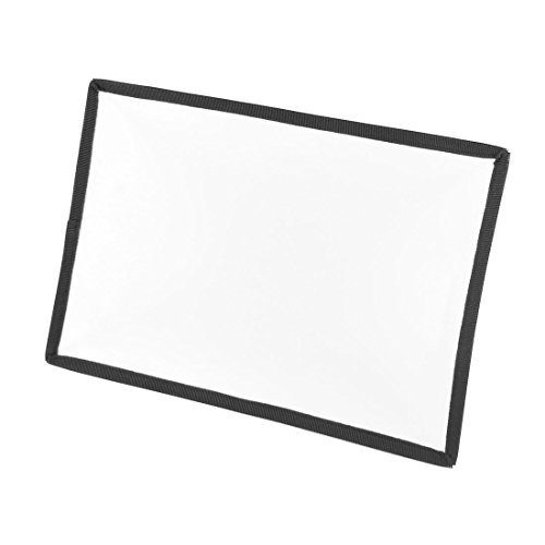 retângulo Preto MacioボックスフラッシュDifusor 29 x 20 cm para SLRデジタルカメラ B078M6M8ZP