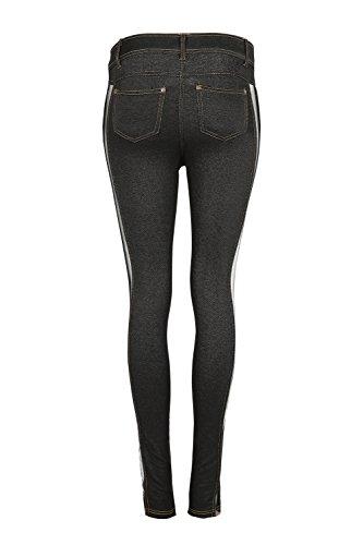Jeans 10 Rockberry Black 10 Black Jeans Rockberry Donna Rockberry Jeans Donna Donna anCU6g