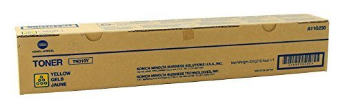 Konica Minolta Part # TN-319Y OEM Yellow Toner Cartridge - 26.000 Pages (A11G230) ()