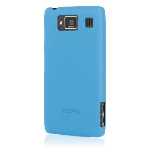 - Incipio MT-217 Feather Case for Motorola Droid RAZR MAXX HD - 1 Pack - Retail Packaging - Blue