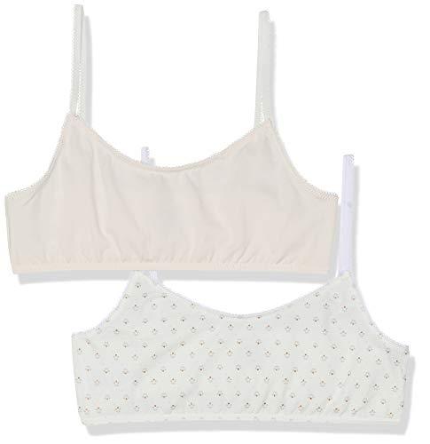 - Petit Bateau Girl's Stretch Cotton Bralettes - Set of 2 Size 14 Style 48141 (Size 14 Style 48141 Girls Bra)