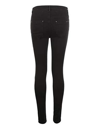 Alta Neri Leggings Black S Snellente Pantalone Jeans Black Donna Size Vita Da Hungrybubble A color 8xXwzFOqq