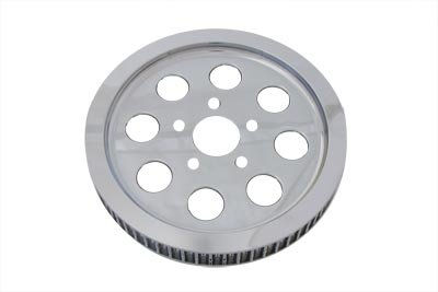 V-Twin Manufacturing 61 Tooth Rear Drive Pulley Chrome 20-0376 ()