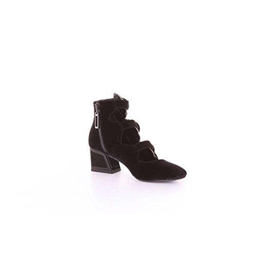UNA Negro KAT Mujer Zapatos tacón de MACONIE 5Sx5Fw0qT