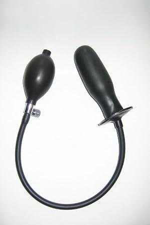 Látex anal plug hinchable: Amazon.es: Salud y cuidado personal