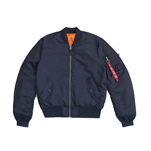 Alpha Industries Men's Slim-European Fit MA-1 Flight Jacket