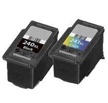 Lovetoner Compatible CANON PG240XL / CL241XL INK / INKJET Cartridge Combo Black Tri-Color