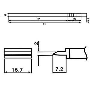 SATKIT AOYUE LF-1401 PUNTA SOLDADOR CON RESISTENCIA INCLUIDA: Amazon.es: Bricolaje y herramientas