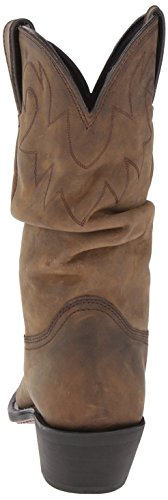 Durango Slouch distressed M Western Rd542 Women's Tan Us Boot 11