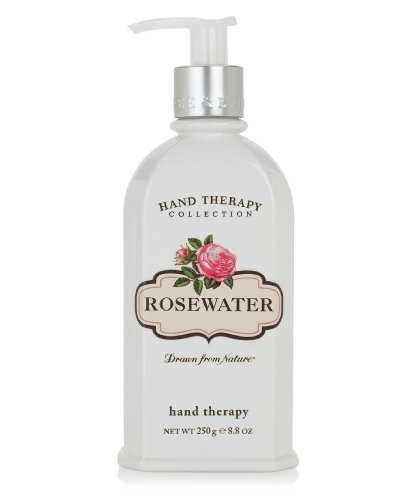 Crabtree & Evelyn Ultra-Moisturising Hand Therapy,Rosewater,8.8 oz.
