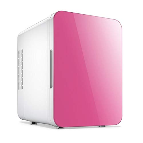 ZBJJ Portable Mini Fridge Electric Cooler and Warmer Refrigerated Storage Box Car Refrigerator 251824cm (Color : Pink)