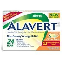 Alavert 24 Hour Orally Disintegrating Tablets Citrus Burst 18 - Orally Disintegrating Alavert Tablets