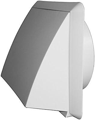 Campana extractora de aire con válvula antirretorno de plástico DN 150 marrón de rejilla: Amazon.es: Bricolaje y herramientas