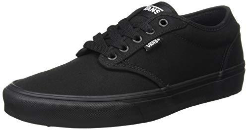 Vans Atwood, Men's Skateboarding Shoes, Black, 8 UK / 42 EU (Best Vans Shoes For Skateboarding)