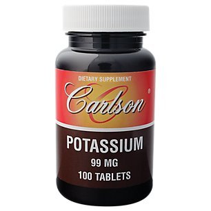 Potassium 99mg Carlson Laboratories 100 Tabs