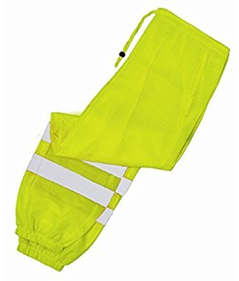 Mesh Ultra Cool (ML Kishigo 3108 Ultra-Cool Mesh Pant, Fits Small and Medium Waist, Lime)