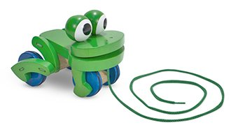 Frolicking Frog Pull Toy, Baby & Kids Zone