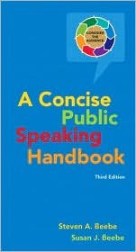 Download Concise Public Speaking Handbook 3th (third) edition pdf epub
