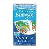 EdenSoy Organic Vanilla Soymilk 32 oz (Pack of 12)