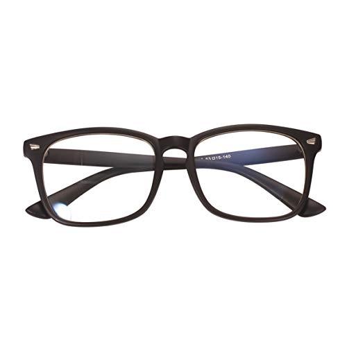 Agstum Blue Light Blocking Glasses Anti-fatigue Gaming Glasses Computer Glasses (Black)