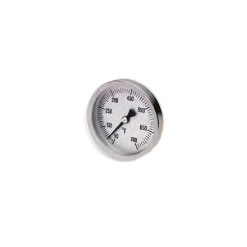Bel-Art Products 61320-0500, DURAC Bi-Metallic Temperature Thermometer (Pack of 5 pcs)