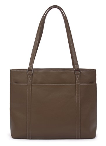 Overbrooke Classic Laptop Tote Brown