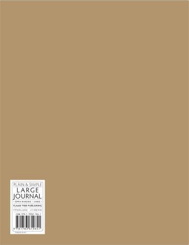 Natural large plain & simple sketch book (Plain & Simple Journals) PDF