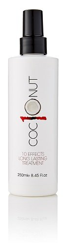 Coconut Heat Protection Spray, Dry Hair Treatment – 10 Benefits, Anti - Frizz, UV Protection, Add Body, All In One Styling Treatment – 250 Millilitres Second Glance Beauty