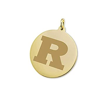Image of Charms M. LA HART Rutgers University 18K Gold Charm