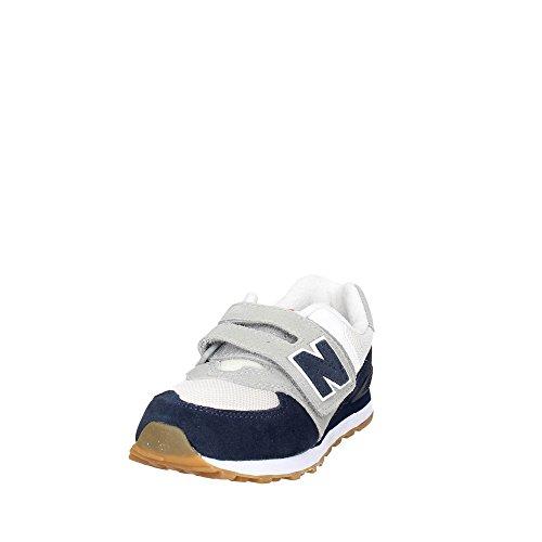 Loop blanc Hook Enfant Balance Mixte New Kv574czy Baskets bleu and Basses M CRWqa