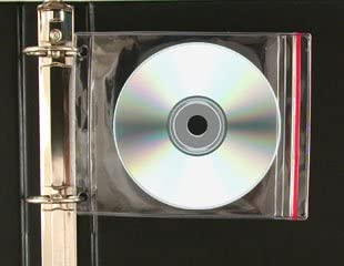 CD Zipper Binder Case R1982-100 100 Pack StoreSMART