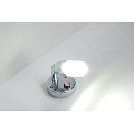 Blue and Cool White Lghting Map Light for RV Marine Dream Lighting 12V LED Bedside Lamp -1.9w Bullet Shape Reading Light Car Camper and Motorhome Pack of 2