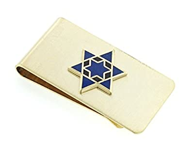 JJ Weston Star of David Money Clip. Made in the USA