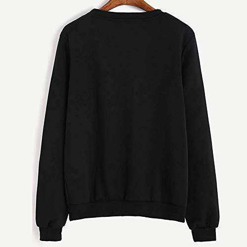 Femme E546113 Shirts Sweat A Kangrunmy npRXwUx