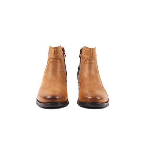 Cognac Of Dougie Bottines Femme Eden Apple z7xnvx