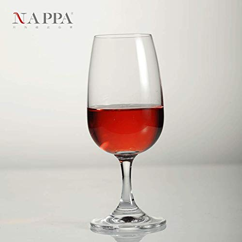 tal red wine glass ISO international standard wine glass wine glass 220ML 6 sticks ()