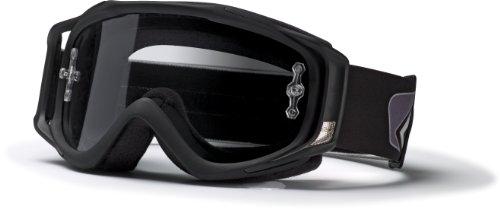 Smith Optics Fuel V.2 Sand MX Goggle with Light Sensitive Lens (Black), Outdoor Stuffs