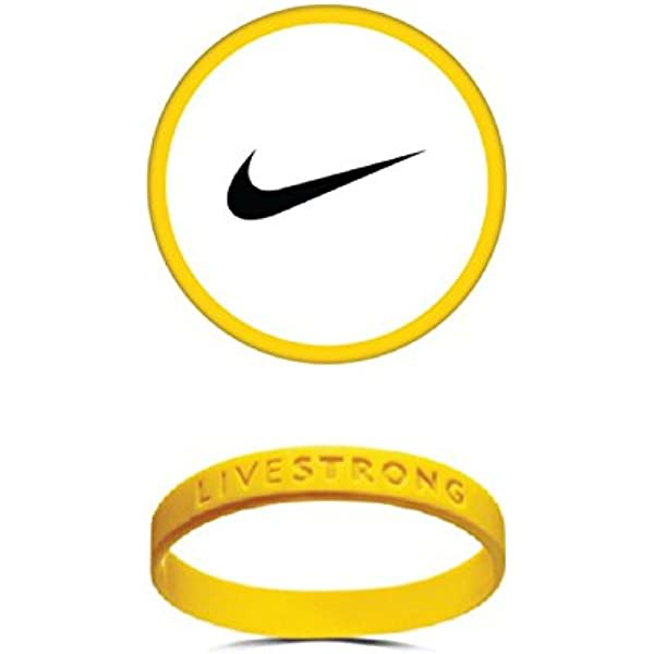 1 Livestrong Band Bracelet Armstrong Wristband Yellow
