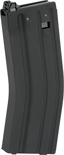 Evike 6mmProShop Blackcat Feather Light 30/120 Round Magazine for Systema PTW CTW DTW Series AEG