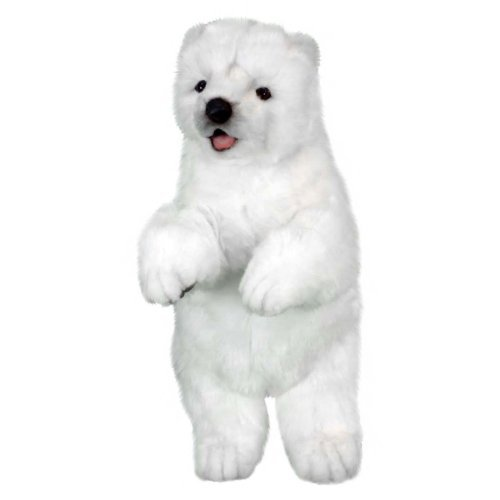 Standing Polar Bear Reproduction By Hansa, -Affordable 13'' -Affordable Hansa, Gift for your Little One  Item  DHAN-5303 by Hansa e65b62