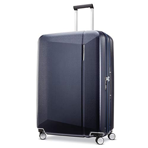 (Samsonite Checked-Large, Dark Navy)