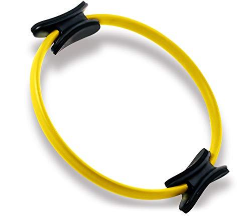 Oyomba - Anillo de pilates con círculo mágico de entrenamiento de 35,5 cm – BALANCED BODY CIRCLE para lograr una forma de...