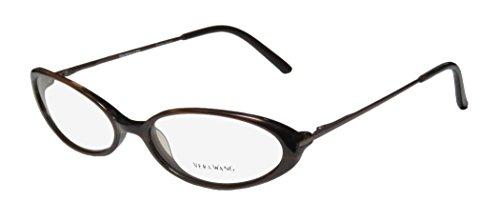 Vera Wang Curve Womens/Ladies Cat Eye Full-rim Flexible Hinges Eyeglasses/Eyeglass Frame (52-16-125, - Logo Eye Cat