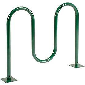wave-bike-rack-green-flange-mount-5-bike-capacity