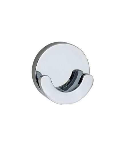 Smedbo LOFT Double Towel Hook LK356 Polished Chrome .Include Glue.Fixing Without Drilling